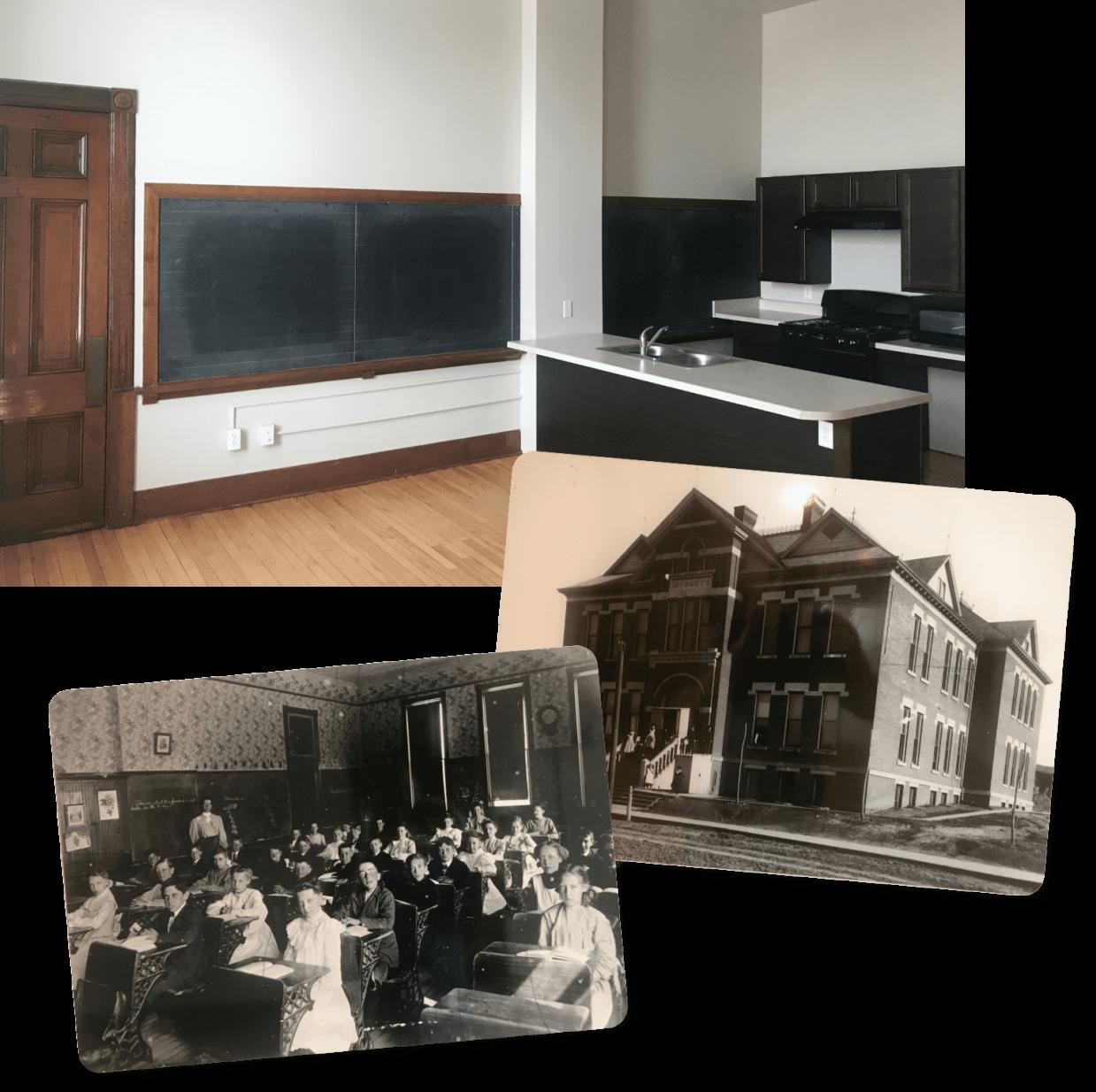 Collection of historic MHDF photos